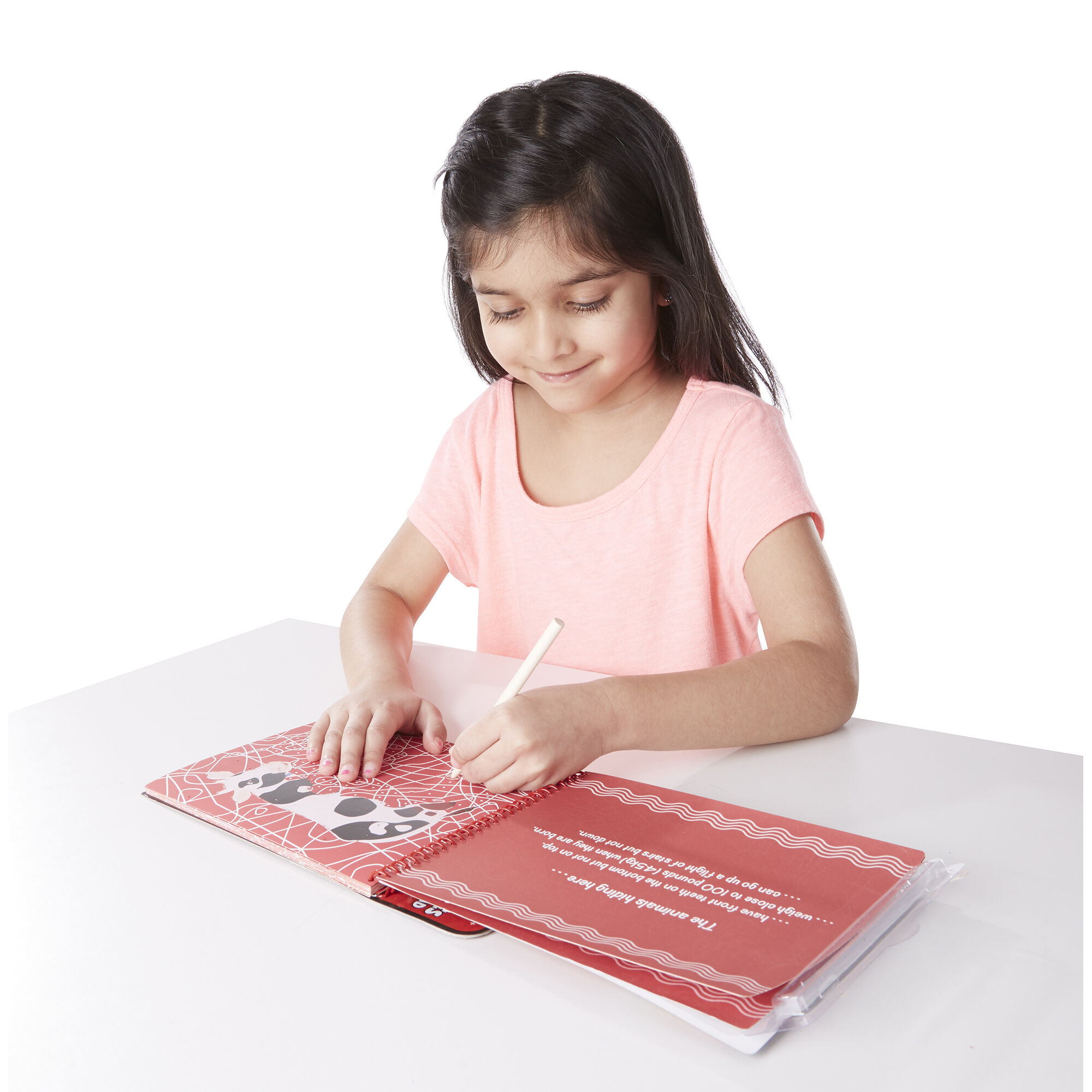 Melissa /& Doug On the Go Scratch Art Hidden-Picture Pad Favorite Things