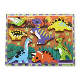Seven piece dinosaur chunky puzzle