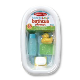 Bathtub set in packaging