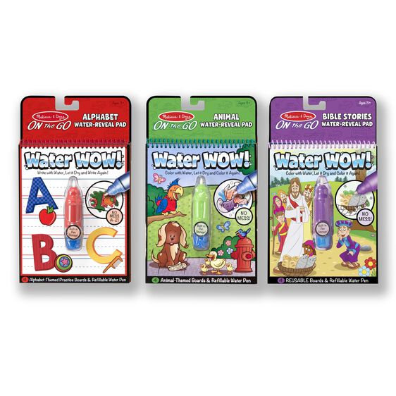 Water Wow! Bundle - Animals, Alphabet and Bible Stories