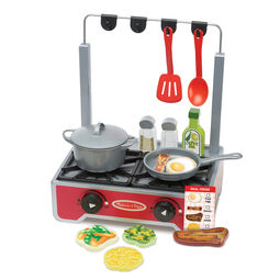 Deluxe Wooden Cooktop Set