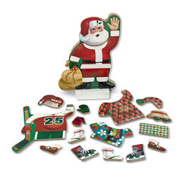Santa Claus magnetic dress up