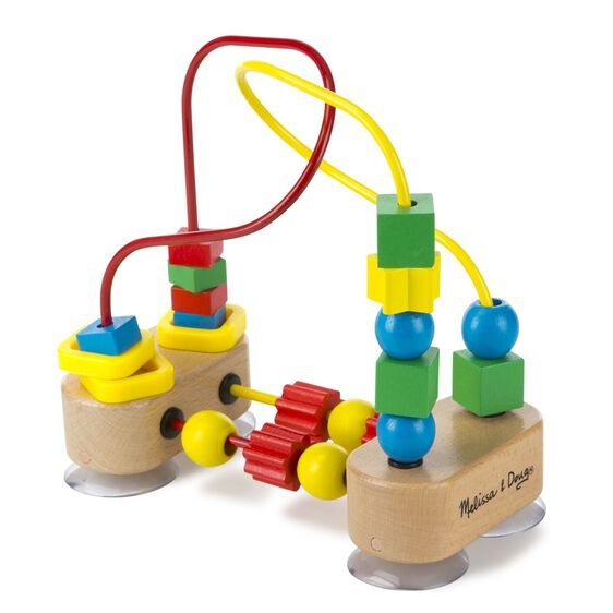 Bead coaster with suction cups