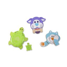 Turtle, Dog, and Cat grasping toys