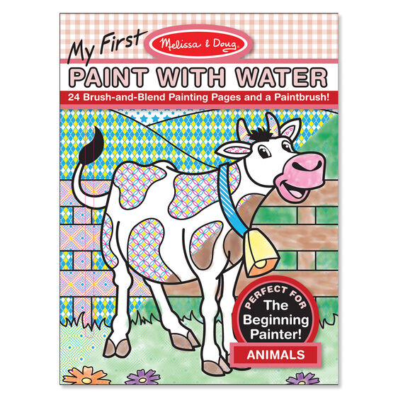 My First Paint with Water - Animals