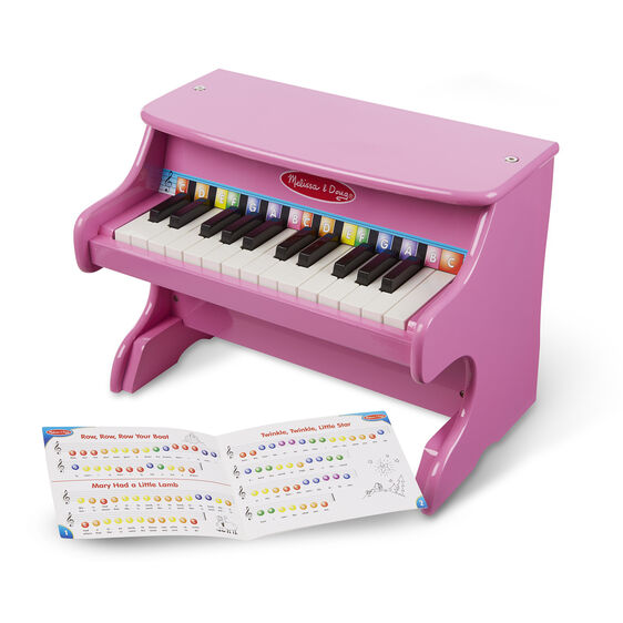 Learn-to-Play Pink Piano