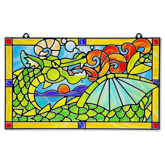 Stained Glass Made Easy - Dragon