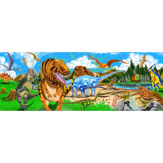 48 piece land of dinosaurs floor puzzle