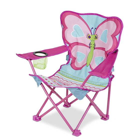 Well known Cutie Pie Butterfly Child Camp Chair | Melissa & Doug TZ05