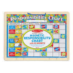 Magnetic responsibility chart in packaging