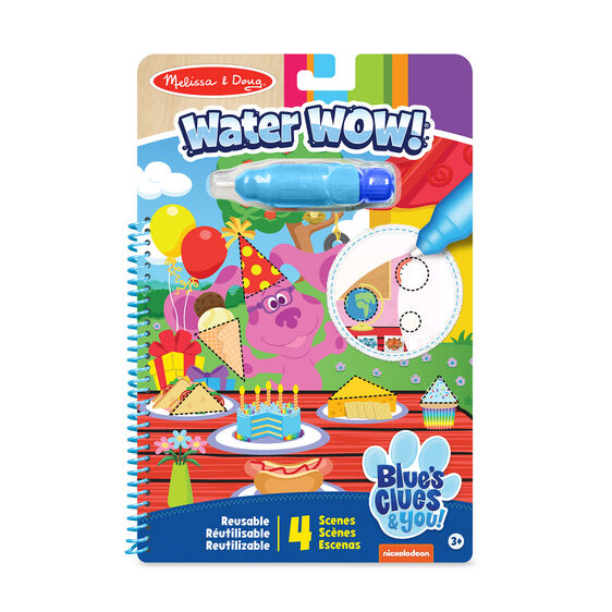 Blue's Clues & You! Water Wow! - Shapes