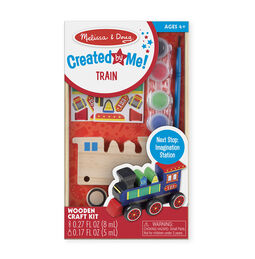 Created by Me! Train Wooden Craft Kit