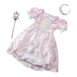 Princess costume with wand and tiara