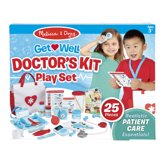 Get Well Doctor S Kit Play Set