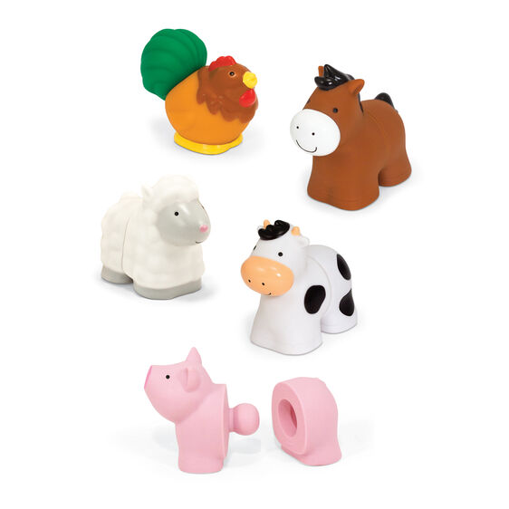 Pop Blocs Farm Animals Learning Toy