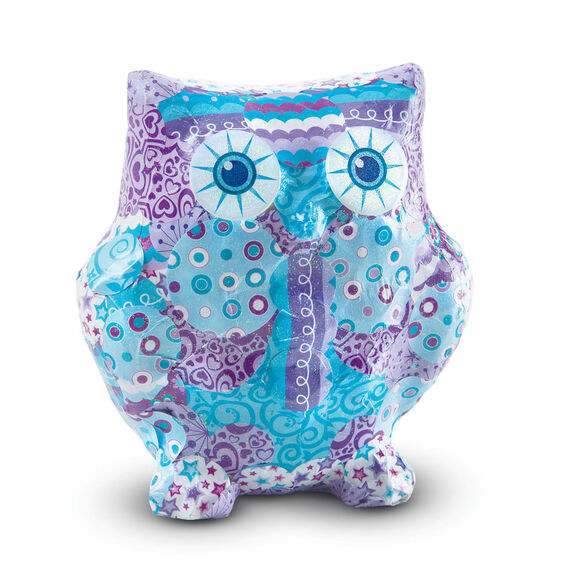 Completed decoupage owl