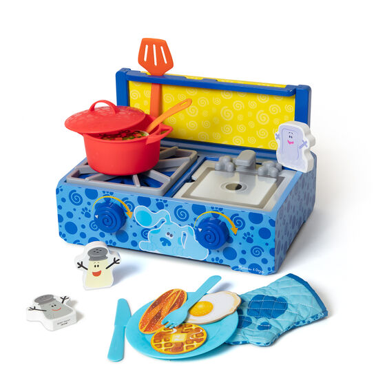 Blue's Clues & You! Wooden Cooking Play Set
