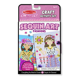 On the Go Sequin Scenes Activity Set - Fashion