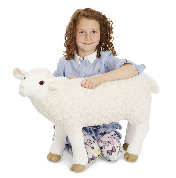Lifelike Plush Sheep