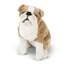 English bulldog stuffed animal
