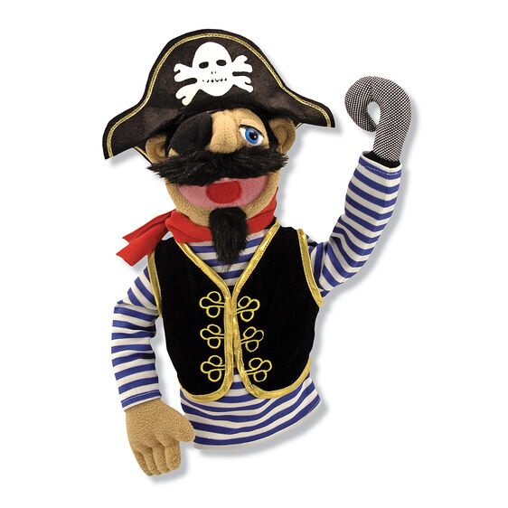 Barnacle Bart Pirate Puppet