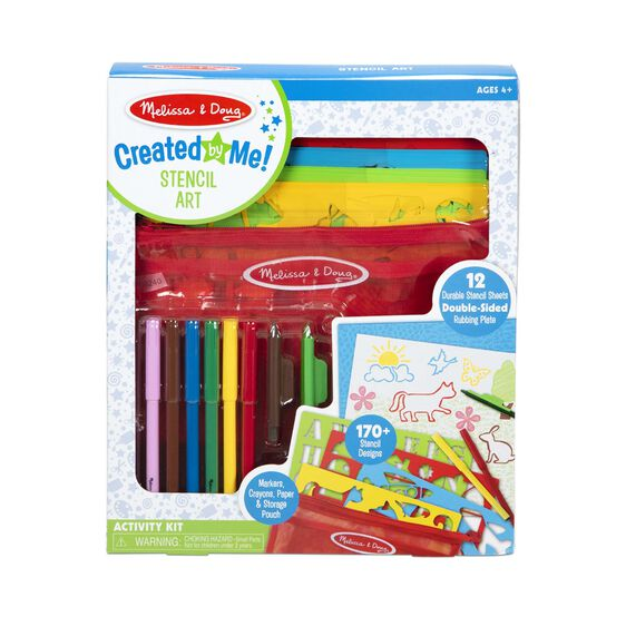 Created by Me! Stencil Art Coloring Activity Kit