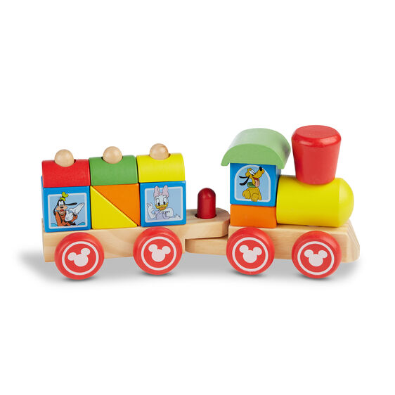 Disney Mickey Mouse & Friends Wooden Stacking Train