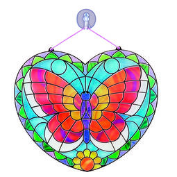 Stained Glass Made Easy - Butterfly