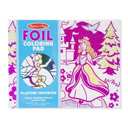 Foil coloring pad in packaging
