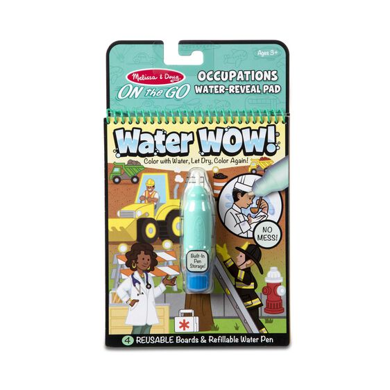 Melissa And Doug On The Go Water Wow Water Farm Reveal Pad NEW Toys Crafts