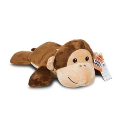 Plush stuffed monkey