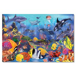 Underwater Floor Puzzle - 48 Pieces