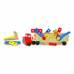 Building truck play set