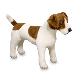 Jack Russell Terrier stuffed animal