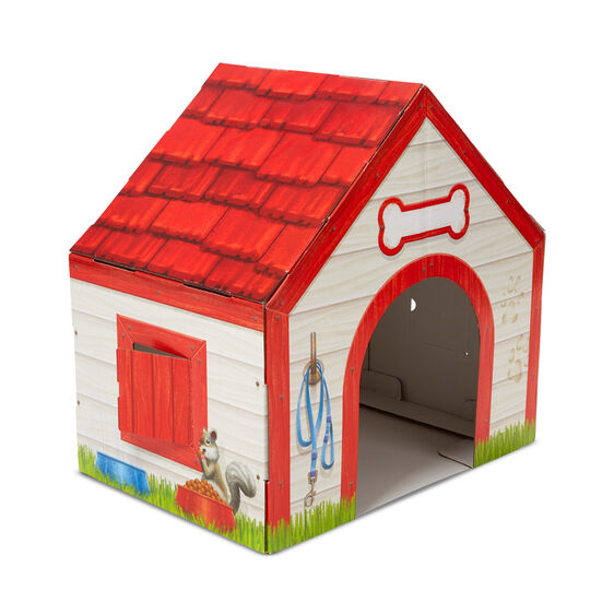 Doghouse Plush Pet Indoor Playhouse