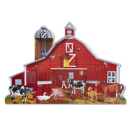 Farm Friends Floor Puzzle - 32 Pieces