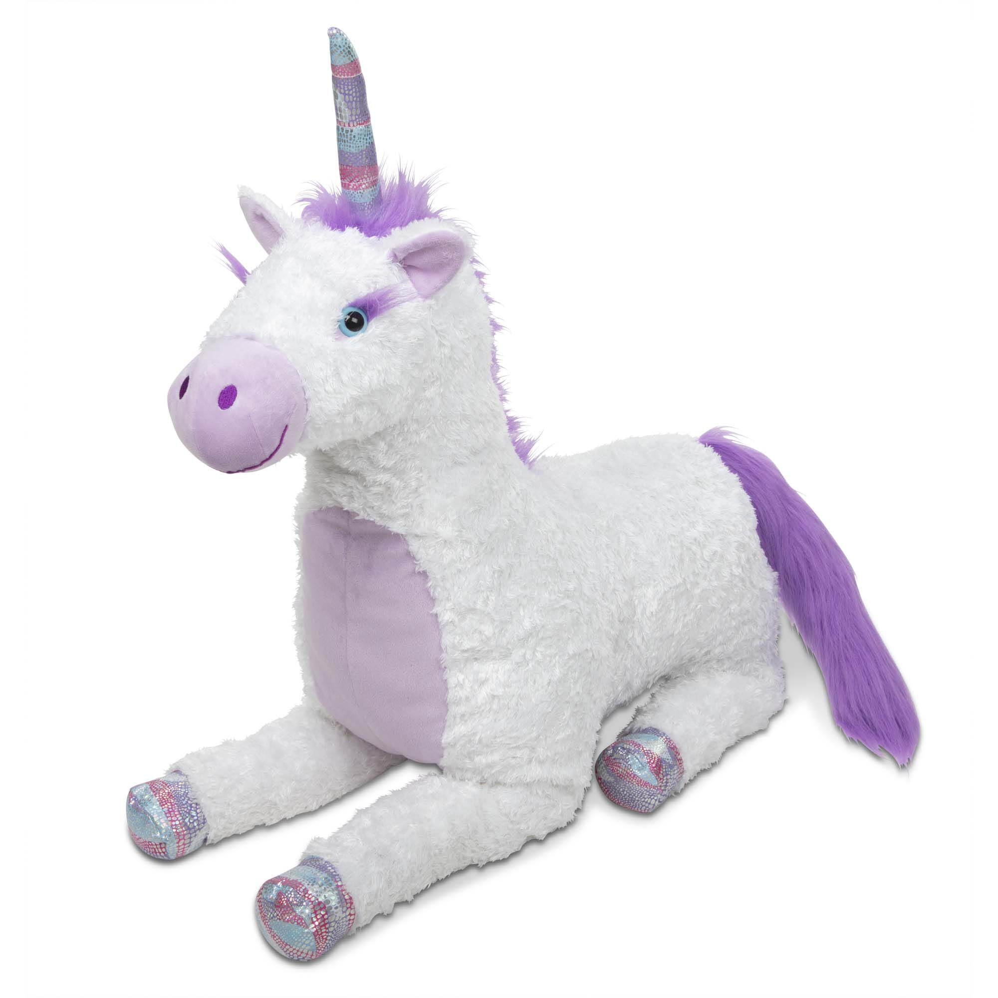 Twos Company Wooden Hand-Crafted Unicorn Collection Unicorn Stacking Toy