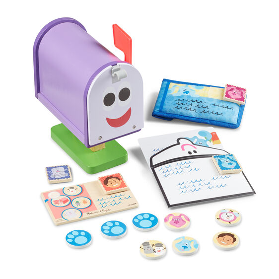 Blue's Clues & You! Wooden Mailbox Play Set