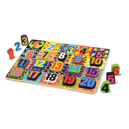 20 piece numbers chunky puzzle