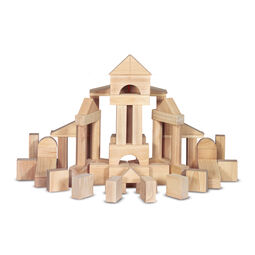 Standard wooden unit blocks