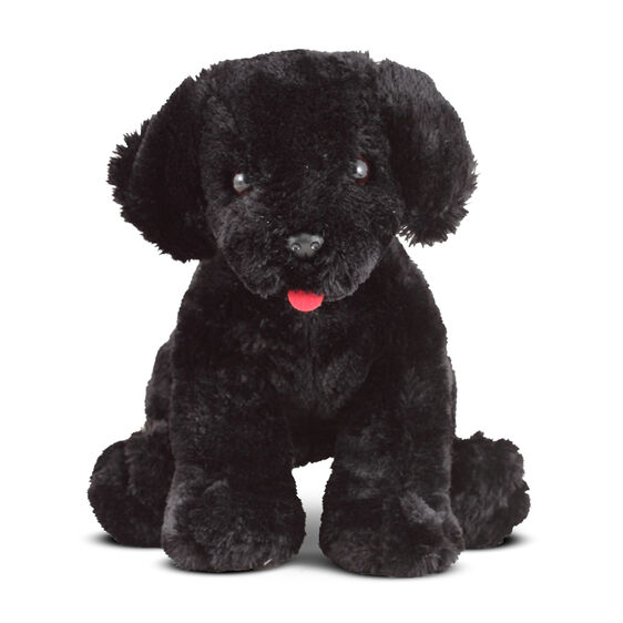 Benson Black Lab Puppy Dog Stuffed Animal