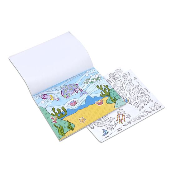 Color Your Own Sticker Pad