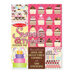 Sweets and treats sticker pads