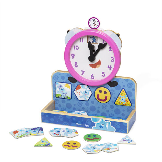 Blue's Clues & You! Wooden Tickety Tock Magnetic Clock
