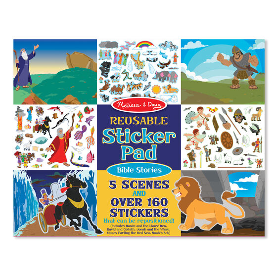 Reusable Sticker Pad - Bible Stories