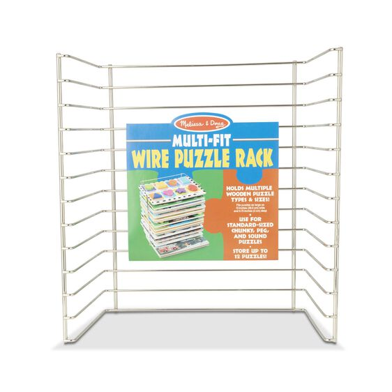 Multi-Fit Wire Puzzle Rack