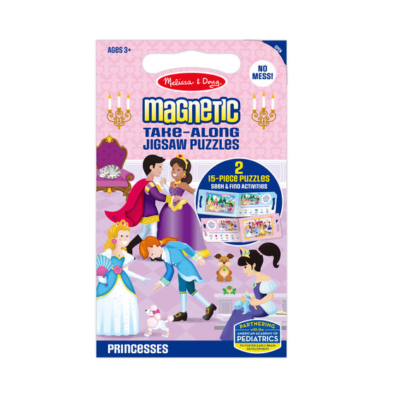 Take Along Magnetic Jigsaw Puzzles - Princesses
