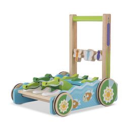 First Play Chomp & Clack Alligator Push Toy
