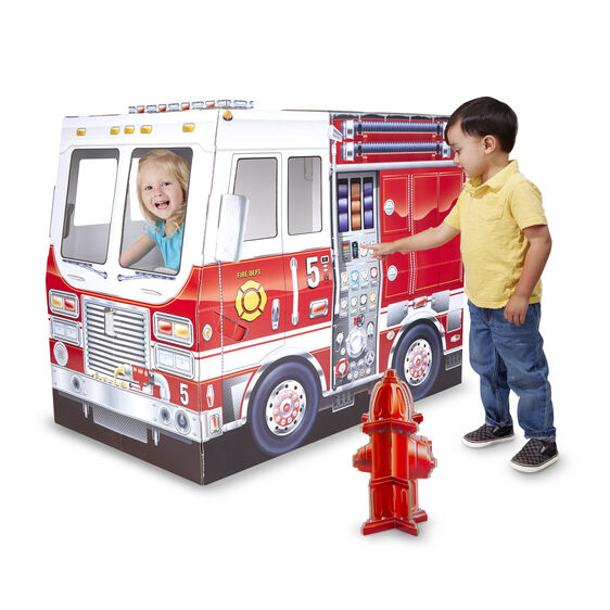 fire truck indoor playhouse melissa and doug