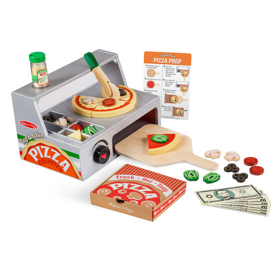 Kitchen Counters On Toys: Top & Bake Pizza Counter